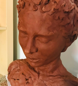 Clay Figure Sculpture of Ella